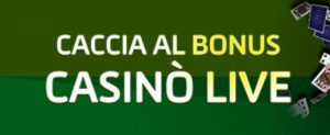 GD Casino Live Bonus 50€ ogni giorno